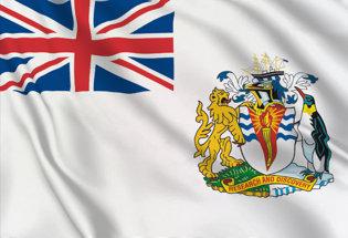 Flag British Antarctic