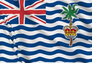 Bandera Oceano Indiano Britanico