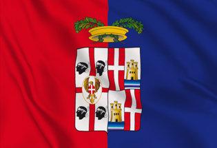 Flag Cagliari Province