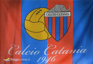 Bandera Catania Calcio Ufficiale