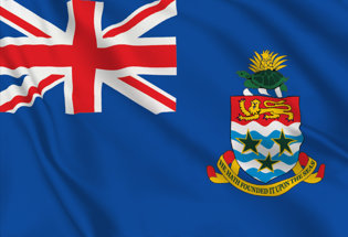 Cayman Table Flag