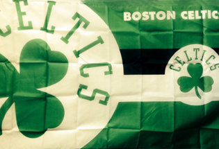 Flag Boston Celtics