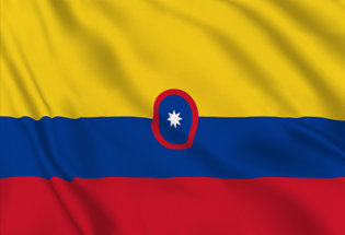 Flag Colombia Civil Ensign