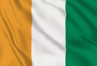 Flag Cote Ivoire