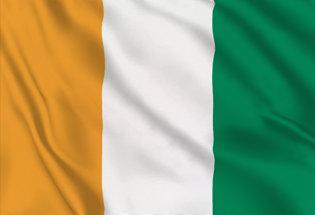 Bandera Costa Marfil
