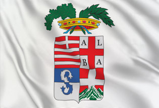 Bandera Cuneo Provincia
