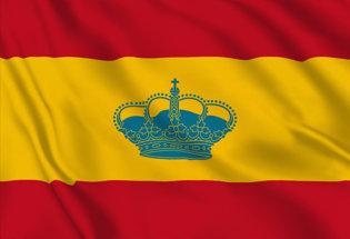 Bandera Espana de Recreo