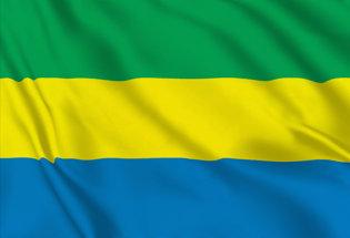 Flag Gabon