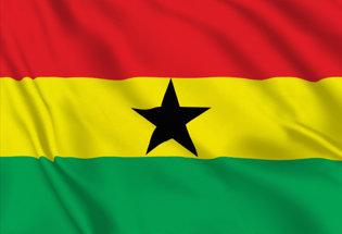 Flag Ghana