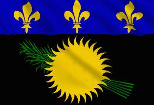 Flag Guadeloupe