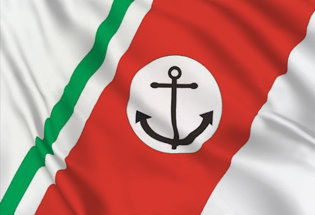 Flag Italian Coastguard