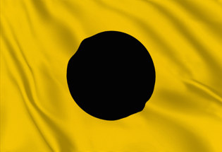 Bandera Letra I