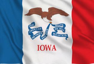 Flag Iowa