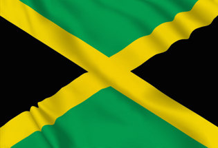 Jamaica Table Flag