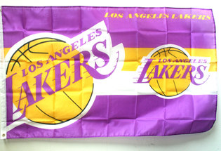 Bandera Los Angeles Lakers