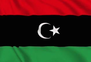 Bandera Libia