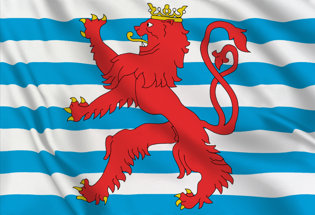 Flag Luxembourg Navy
