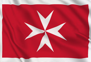 Bandera Malta Marina Mercante