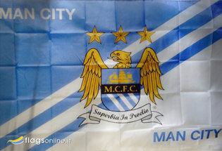 Bandera Manchester City FC