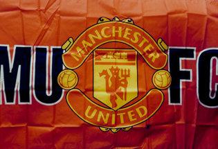 Bandera Manchester United FC