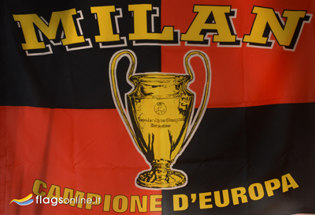 Flag Milan Historical Champion