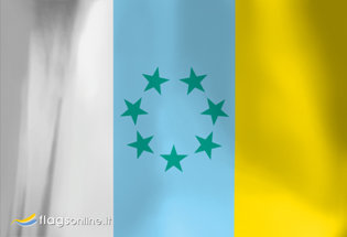 Flag Canarian Nation