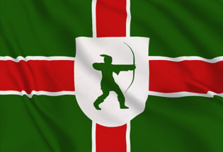 Flag Nottinghamshire