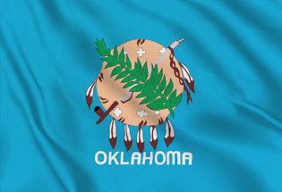 Flag Oklahoma