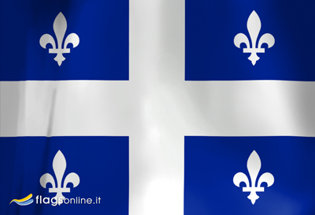 Flag Quebec