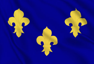 Flag Kingdom of France