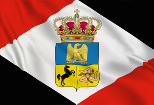 Flag Napoleonic Kingdom of Naples 1808