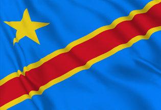 Bandera Republica Democratica Congo