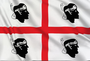 Bandera de Cerdeña