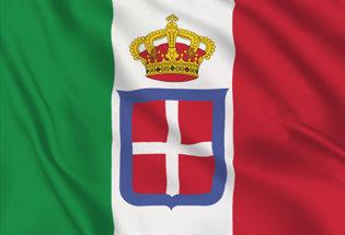 Bandera Italia Savoia