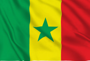 Flag Senegal