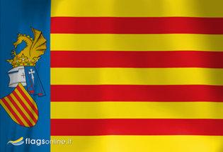 Flag Senyera Valenciana