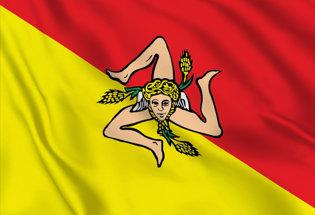 Flag Sicily