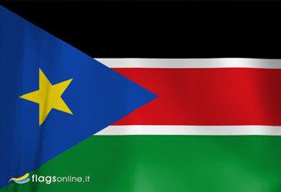 Bandera Sudan del Sur