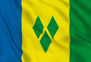 Flag Saint Vincent