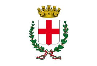 Flag Milan coat of Arms