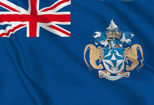 Bandera Tristan da Cunha