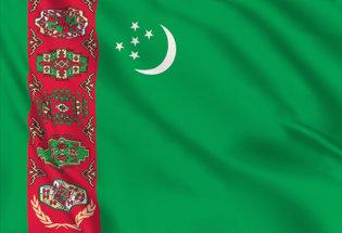 Bandera Turkmenistan