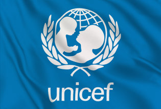 Bandera Unicef