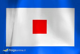 Bandera Letra W