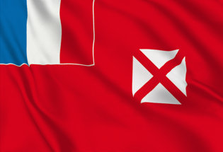 Flag Wallis and Futuna