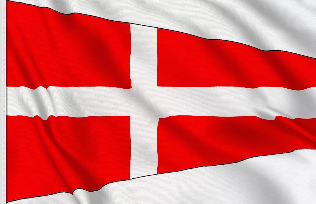 Number 4 flag
