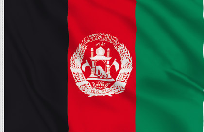 Afganistan Table Flag