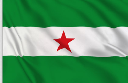 Flag Andalusian nation