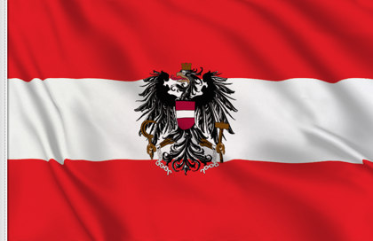 Austria State Table Flag