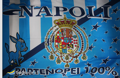 Naples Bourbon historic flag